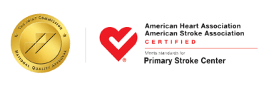 Primary Stroke Center - Certified by American Heart Association and American Stroke Association